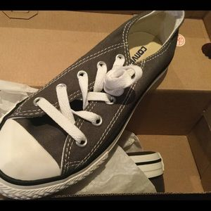 CONVERSE CHUCK TAYLOR ALL STAR SP OX KIDS CHARCOAL